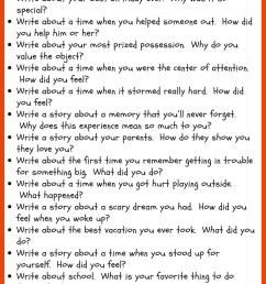 30 Narrative Writing Prompts for Second Grade • JournalBuddies.com [ 2061 x 736 Pixel ]