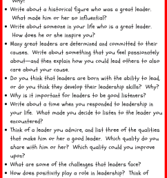 30 Leadership Writing Prompt Ideas for Kids • JournalBuddies.com [ 2061 x 736 Pixel ]