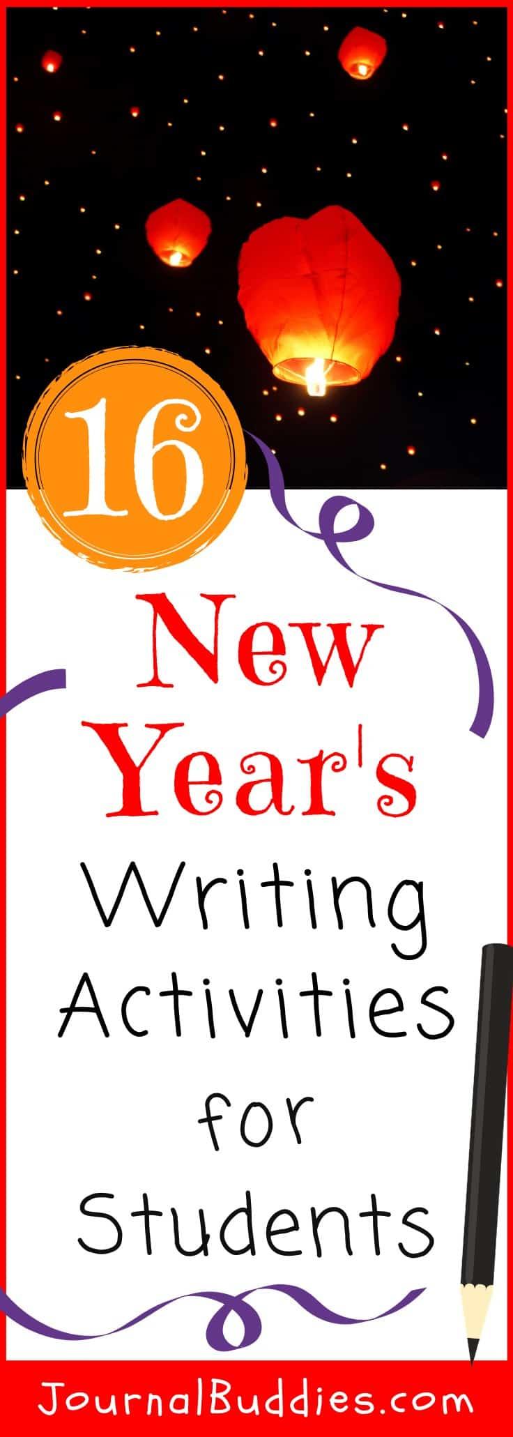 hight resolution of 16 New Years Writing Activities • JournalBuddies.com