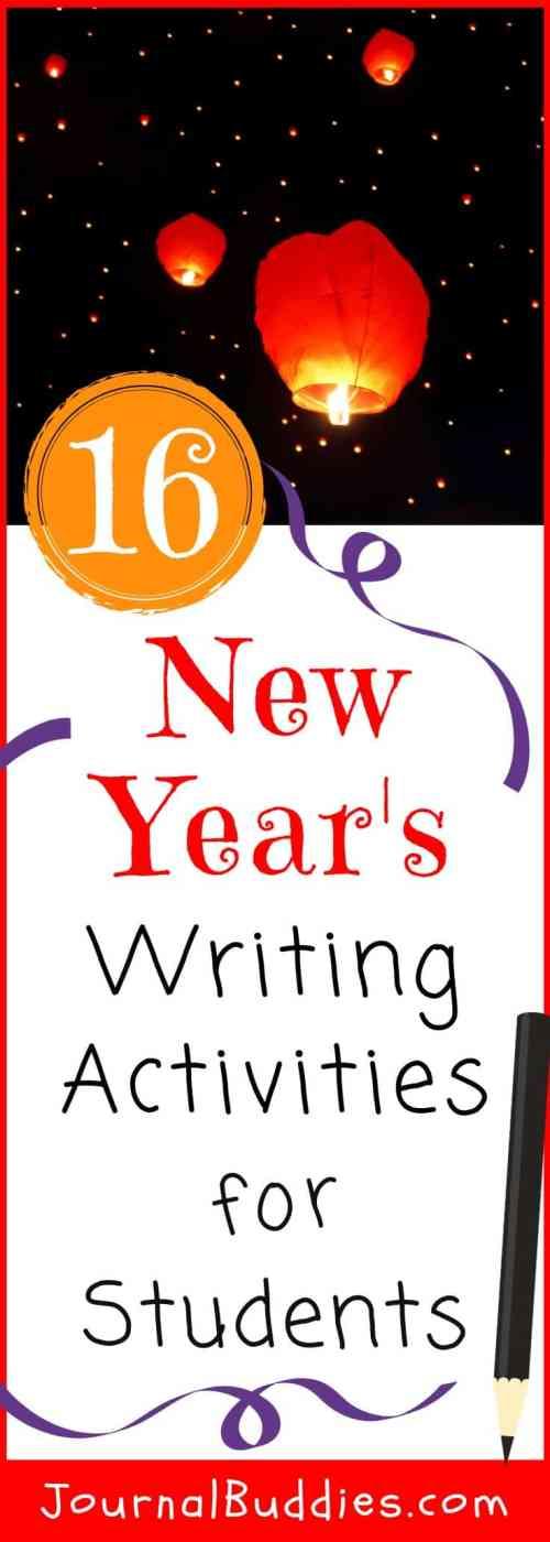 small resolution of 16 New Years Writing Activities • JournalBuddies.com