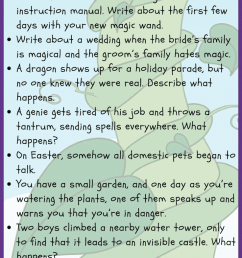 35 Fantasy Writing Prompts • JournalBuddies.com [ 2061 x 736 Pixel ]