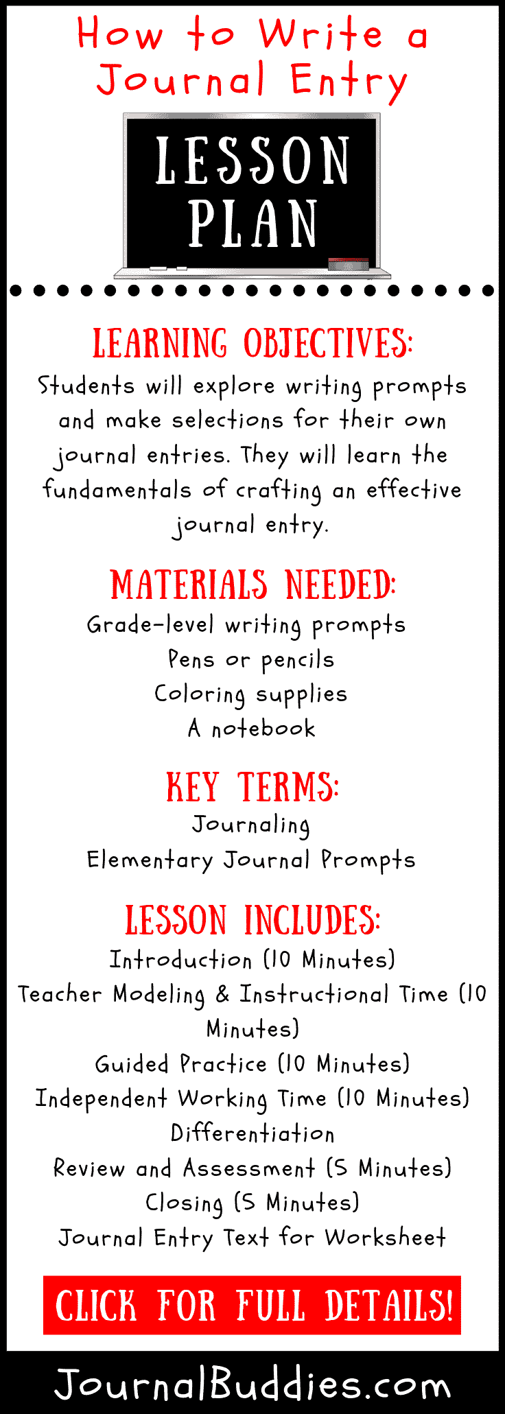 medium resolution of How to Write a Journal Entry Lesson Plan • JournalBuddies.com