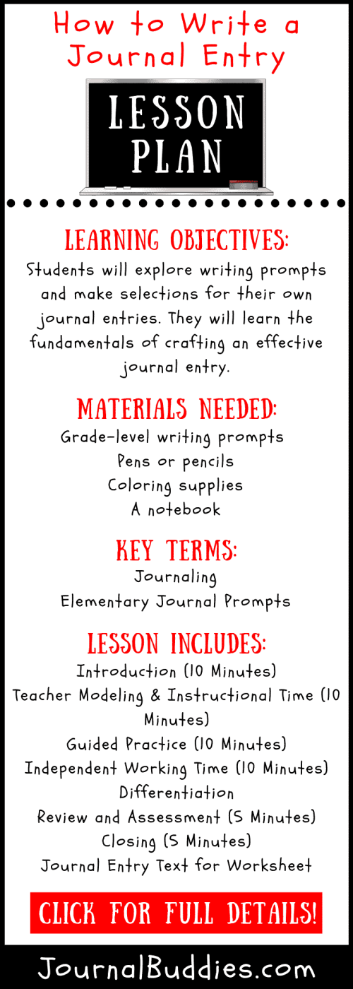 small resolution of How to Write a Journal Entry Lesson Plan • JournalBuddies.com