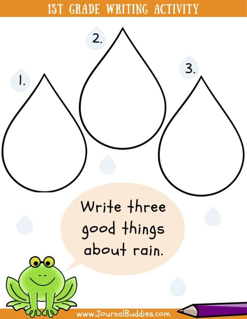 medium resolution of Writing Worksheets for Grade 1 • JournalBuddies.com