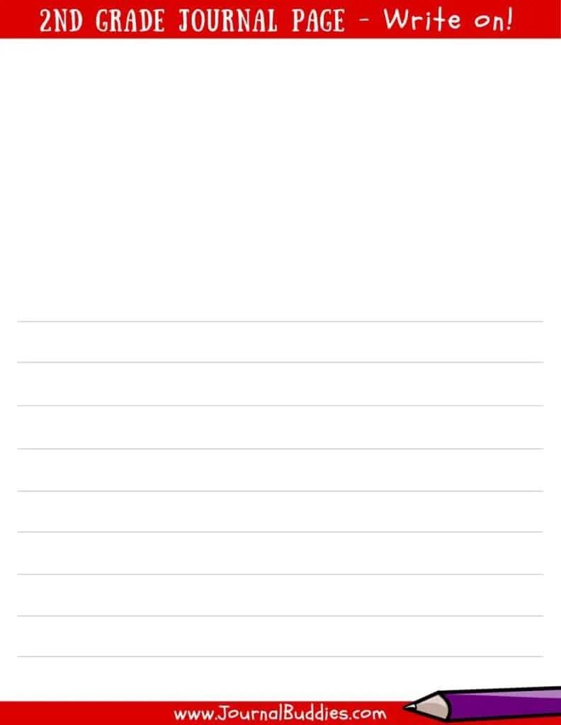medium resolution of Writing Worksheets for 2nd Grade • JournalBuddies.com