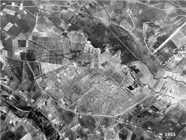 1_Foto Aerea Storica di Arpi del 1955