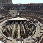 Colosseo. Procedono i lavori propedeutici alla realizzazione dell'arena