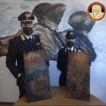 Monza. I Carabinieri  TPC restituiscono due porticine di tabernacolo del Settecento