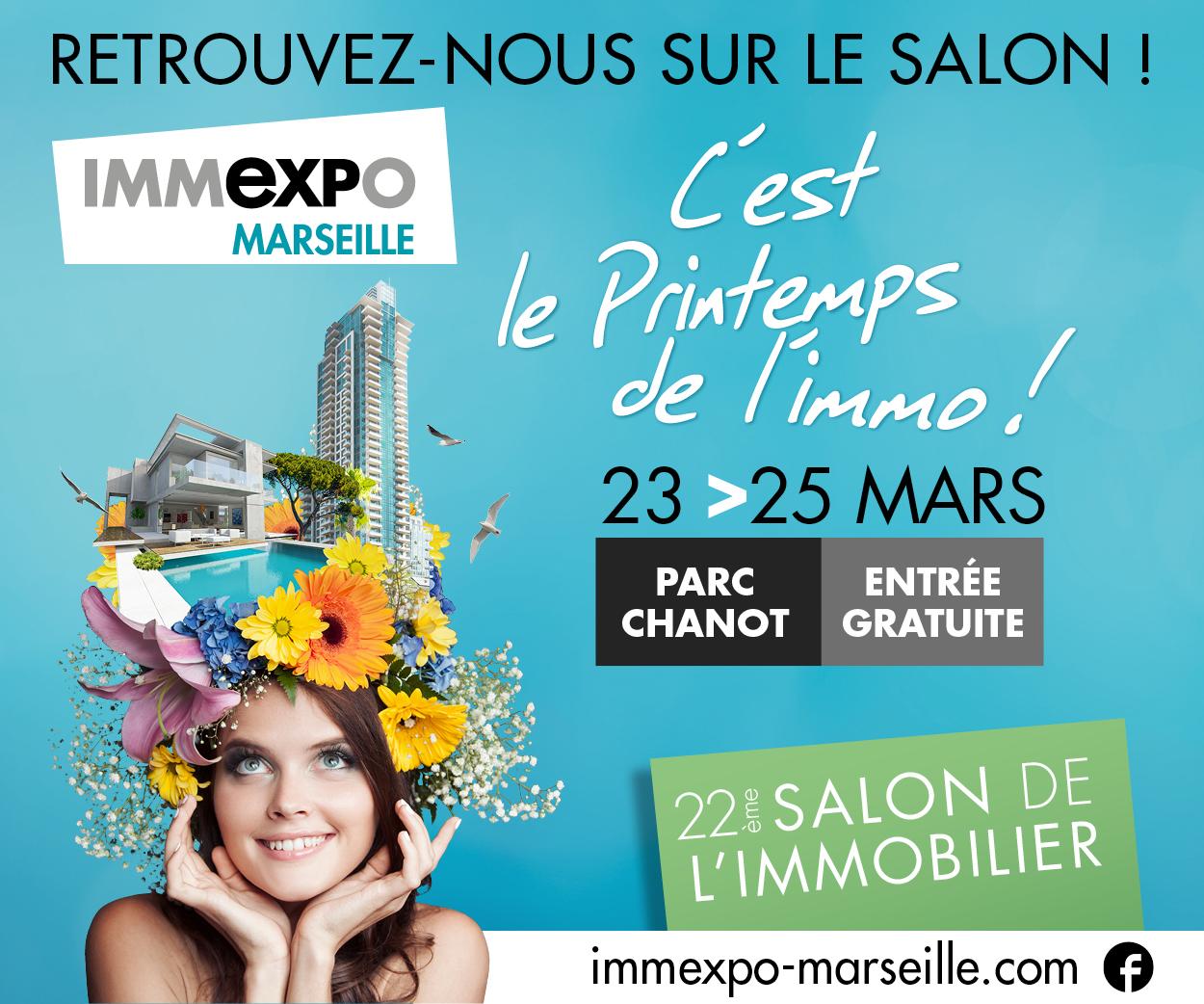 Immexpo Marseille se tiendra au Parc Chanot du 23 au 25 mars  Journal de lAgence