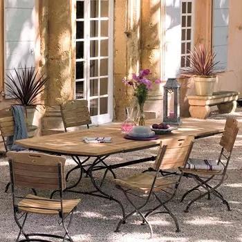 Emejing Salon De Jardin Bois Fer Ideas - Antoniogarcia.info ...