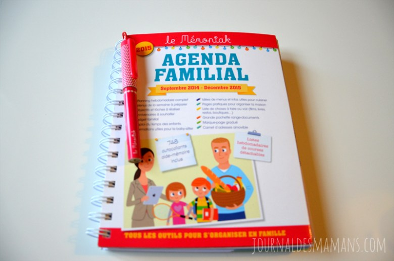 agenda familial memoniak