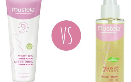 mustela anti-vergetures