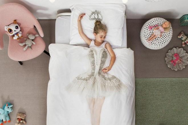 parure de lit danseuse