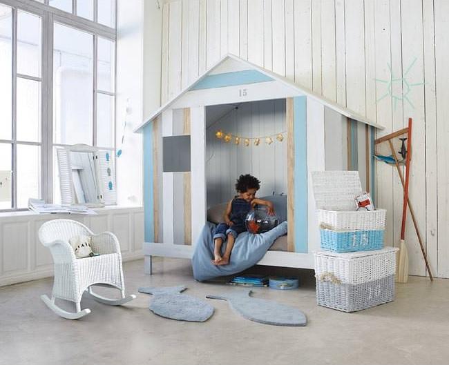 chambre enfant plage