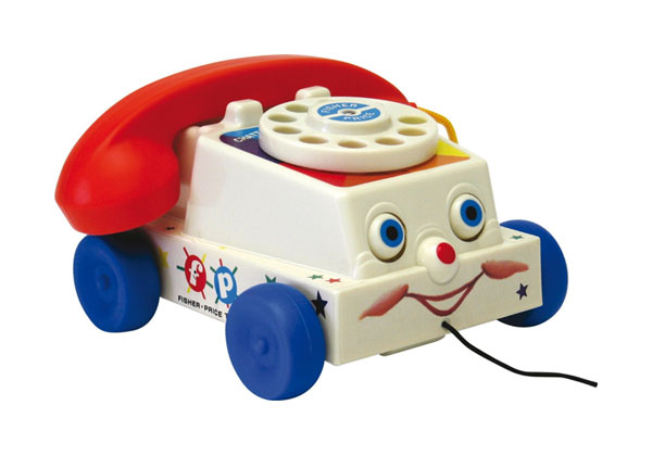 jouet vintage telephone