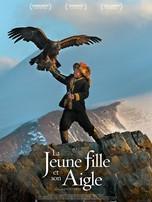 jeune fille et son aigle
