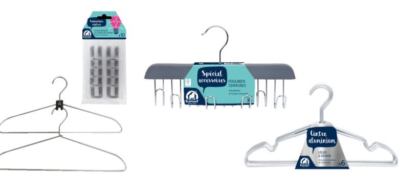 connecteurs cintres éléphant