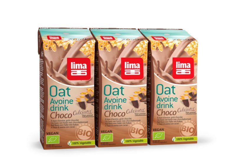 boissons végétales Lima Oat Drink Choco