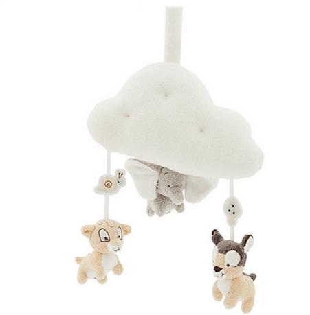 jouet musical à tirer dumbo bambi simba