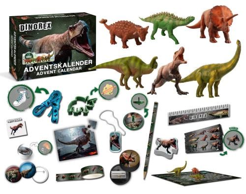 calendriers de l'avent pour enfants 2018 dinosaures