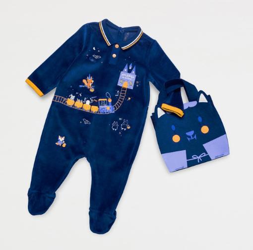 pyjama bebe halloween
