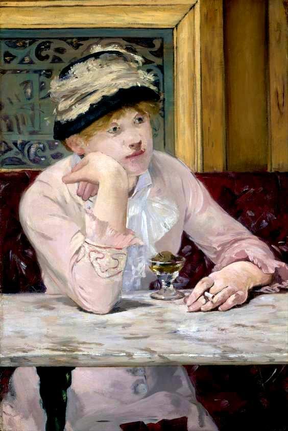 Edouard Manet La prune 1877  Journal des peintres