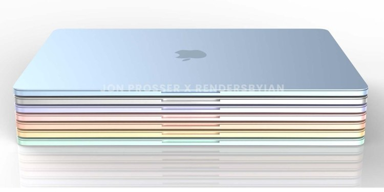 [HOT] : Ein neues buntes MacBook Air mit M2-Chip ab dem nächsten Jahr?
