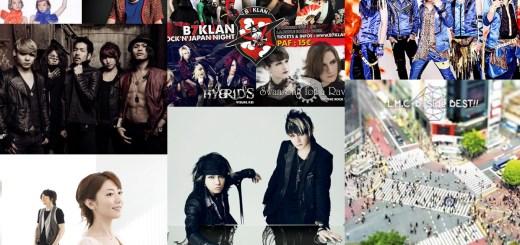 Recap J-music aout 2013