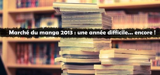 Bilan Manga 2013