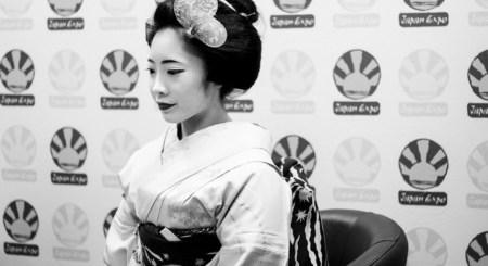 Geisha Interview Japan Expo