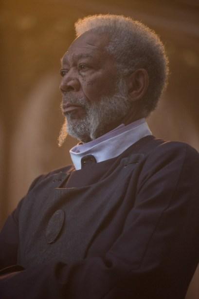 Morgan Freeman est le seigneur Bartok dans Last Knights