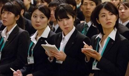 49% des Japonaises sont sur le marché du travail