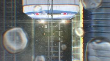 Scène du métro. Yôjo Senki - Tanya the Evil