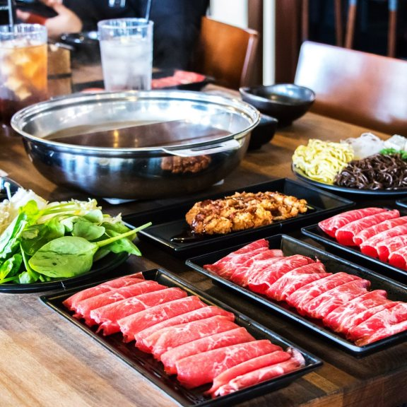 Le Shabu Shabu est une fondue japonaise. Crédits: Borth Shabu Shabu