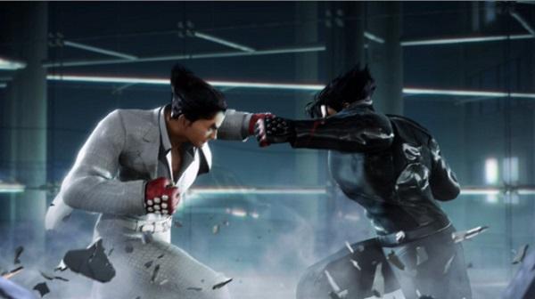 Combat père fils dans Tekken