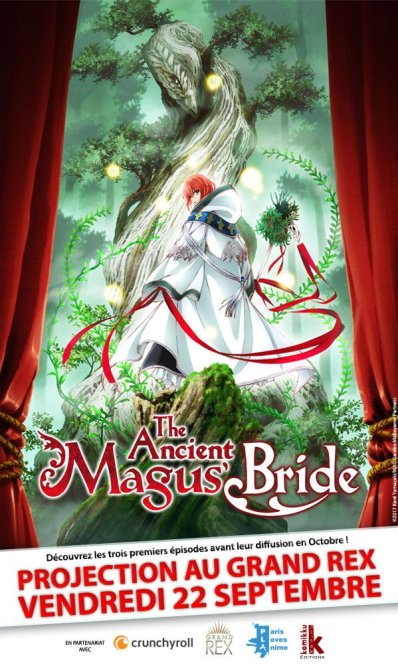 The Ancient Magus Bride Affiche