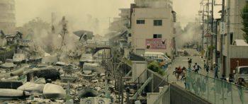 Une imagerie rappelant un Tsunami