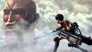 Eren face au Titan Colossal - A.O.T.2 - Koei Tecmo Holdings ©2018