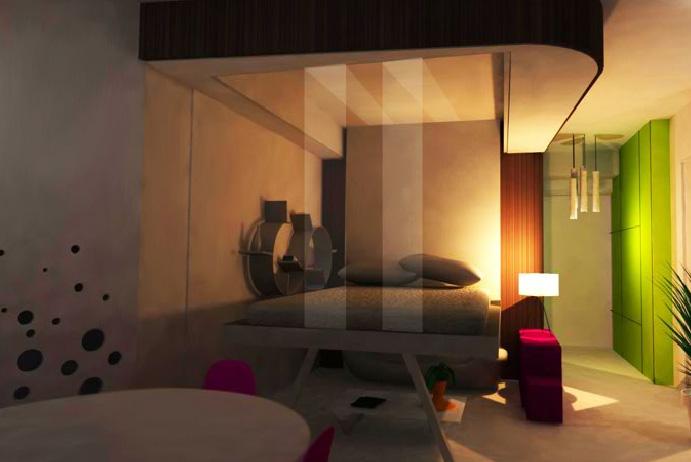 Relooking Design Dun Studio De 25m2 Par Delphine Maumot