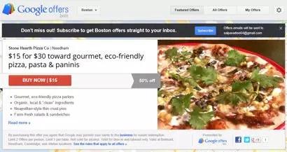 offers, encore en phase beta, s'inscrit dans la volonté de google de pousser le