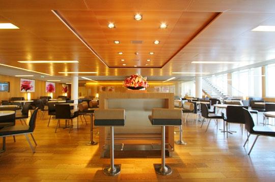 Chez Air France  un salon plusieurs ambiances  Air France sur Journal du Net Economie