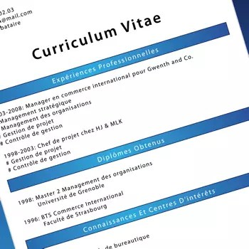 Curriculum Vitae Example Francais Cover Letter And Resume