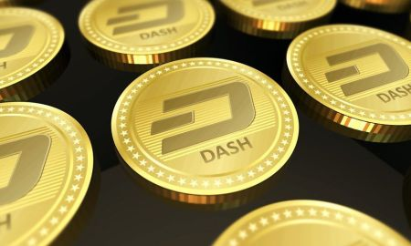 DASH TEXT Crypto Charité