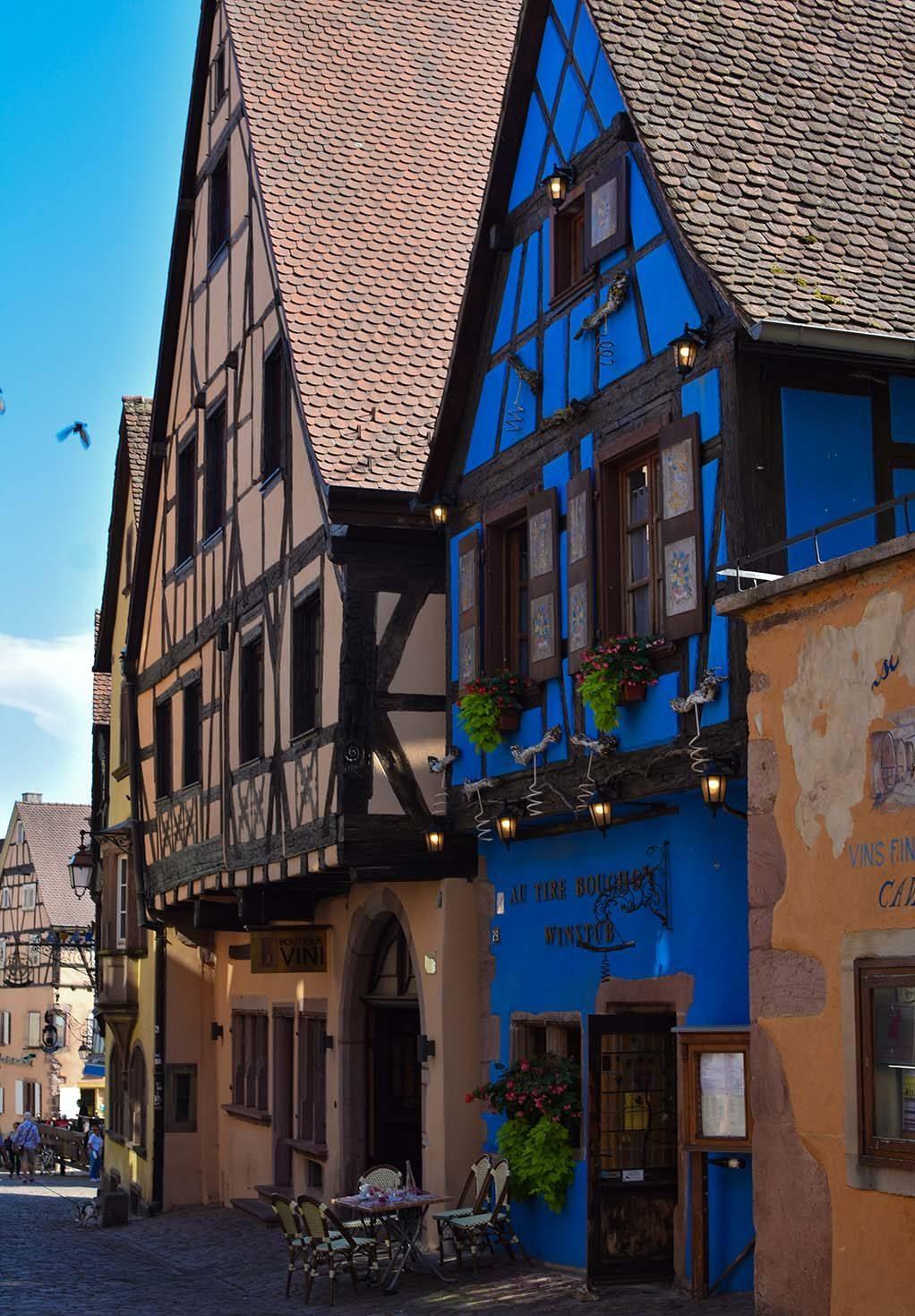 o singura intalnire Alsacia