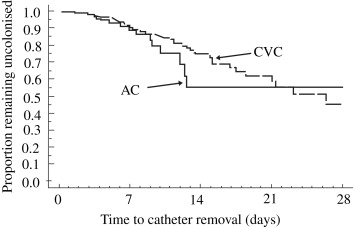 Assessment of peripheral arterial catheters as a source of