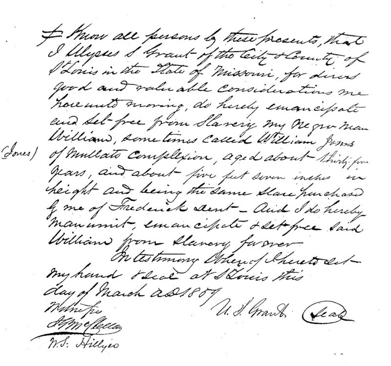 The Mystery of William Jones, An Enslaved Man Owned by