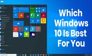 which windows 10 is best