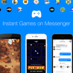 Jeux dans l'Application Messenger de Facebook