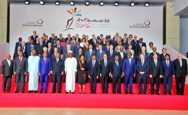 XVIe sommet de la francophonie Madagascar 2016