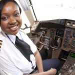 première femme pilote de long-courriers en Afrique